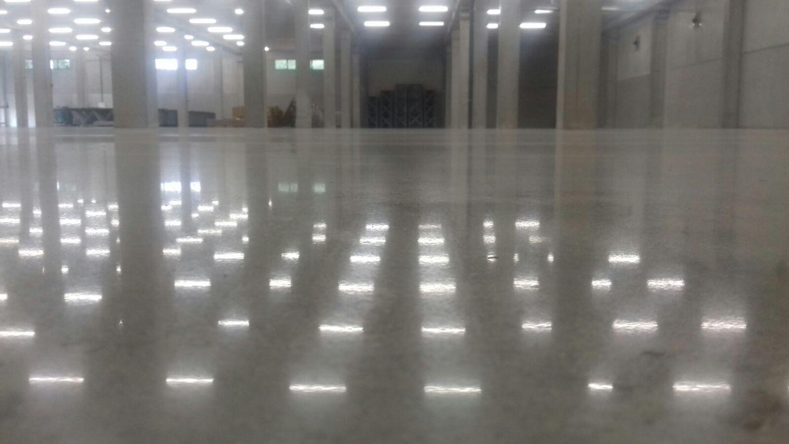 suelo de hormigón pulido