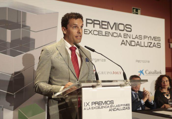 Sevilla, Andaluc'a. 20/07/2018 PREMIOS A LA EXCELENCIA A LAS PYMES ANDALUZAS Juan Carlos Mu–oz